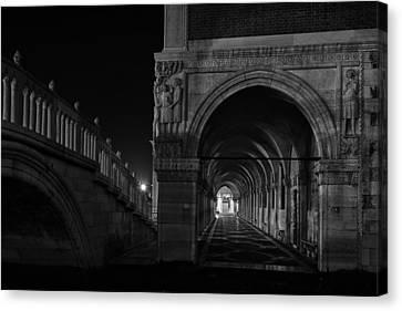 Canvas Print featuring the photograph Ponte Della Paglia by Marion Galt