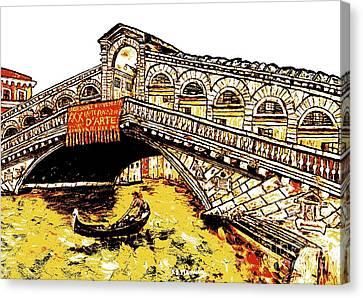 An Iconic Bridge Canvas Print