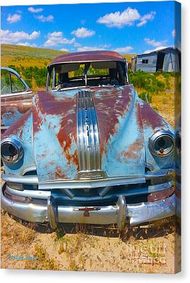 Pontiac Blues Canvas Print