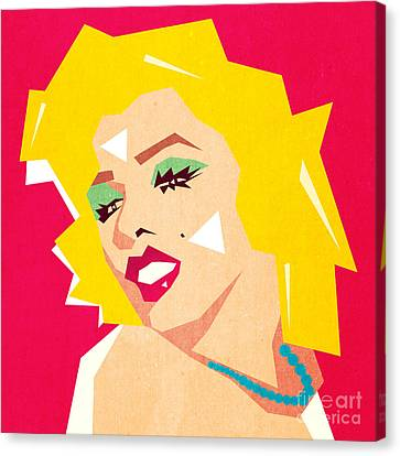 Portraits Canvas Print - Pop Art  by Mark Ashkenazi