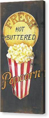 Popcorn Canvas Print by Kim Lewis