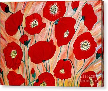 Poppies. Inspirations Collection. Canvas Print