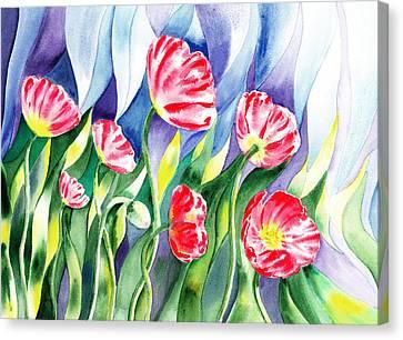 Poppy Field Canvas Print by Irina Sztukowski
