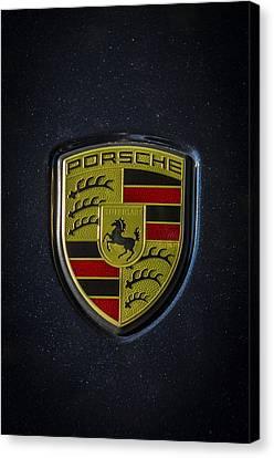 Porsche Logo Canvas Print