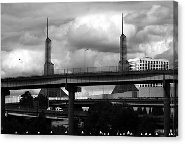 Portland Bridge Canvas Print