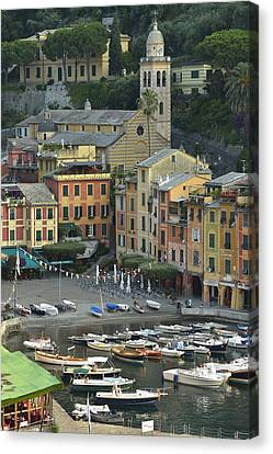 Portofino Canvas Print by Christian Heeb