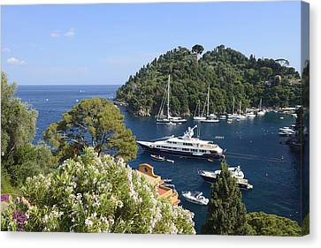 Portofino Coast Canvas Print by Christian Heeb