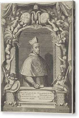 Portrait Of Albert, Archduke Of Austria Canvas Print by Artokoloro