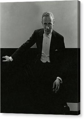 Portrait Of Leslie Howard Canvas Print