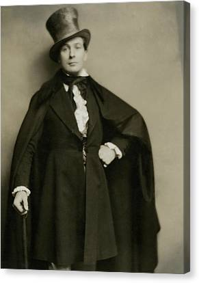 Portrait Of Lionel Atwill In Costume Canvas Print