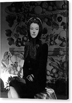 Portrait Of Millicent Rogers Canvas Print by Horst P. Horst