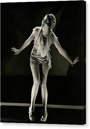 Portrait Of Ruby Keeler Canvas Print