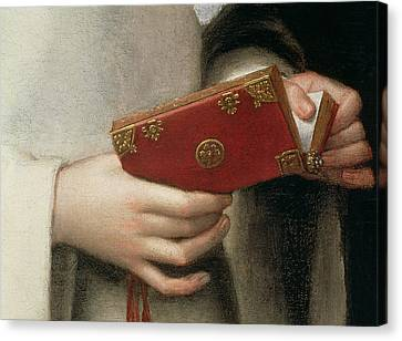 Book Pages Canvas Print - Portrait Of The Artists Sister by Sofonisba Anguissola