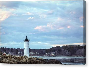 Portsmouth Harbor Light Canvas Print by Eric Gendron