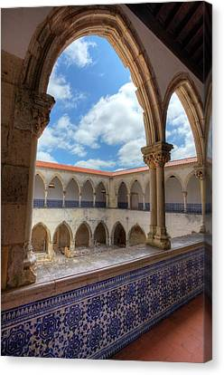 Portugal, Tomar, The Convent Canvas Print by Terry Eggers