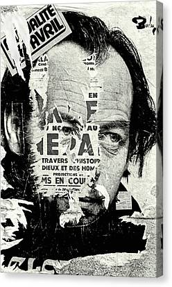 Poster Archaeology 12 Canvas Print