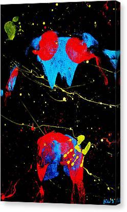 Posterior Impressions Canvas Print by Mayhem Mediums