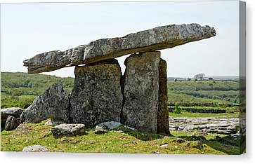 Poulnabrone Dolmen Canvas Print by Clouds Hill Imaging Ltd