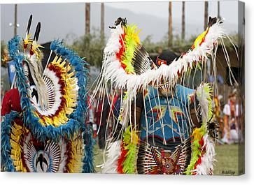 Pow Wow Canvas Print by Stellina Giannitsi