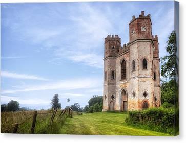 Powderham Castle Canvas Print