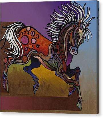 Prancer Canvas Print by Bob Coonts