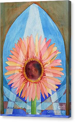 Praying Gerbera Canvas Print