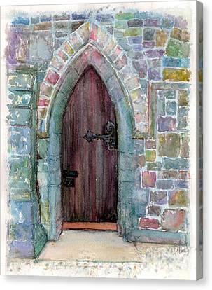 Prince Door Canvas Print by Patsi Prince