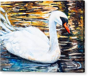 Prince Of Swans Canvas Print