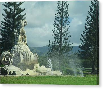 Canvas Print featuring the photograph Princeville by Alohi Fujimoto