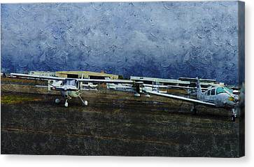 Public Holiday Canvas Print - Private Airport by Xueyin Chen