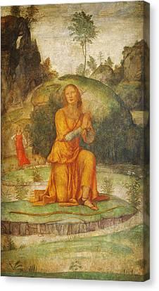 Procris Prayer To Diana Canvas Print