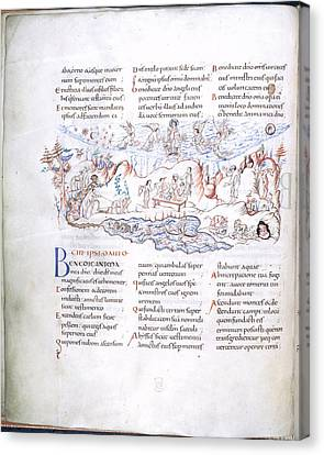 Psalm 103 Canvas Print by British Library
