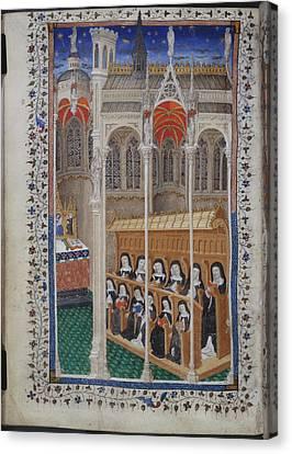 Psalter Of Henry Vi Canvas Print