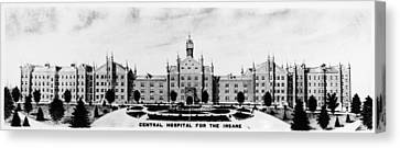 Psychiatric Hospital Canvas Print by Granger