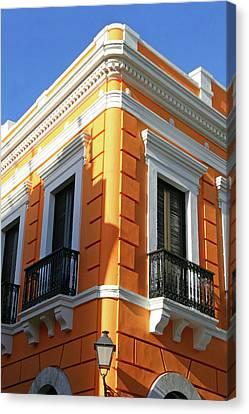 Puerto Rican Canvas Print - Puerto Rico, Old San Juan, Street by Miva Stock