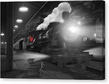 Pulling Out Canvas Print by Mike McGlothlen