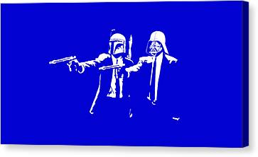 Pulp Wars  Canvas Print