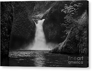 Punchbowl Falls Canvas Print by Keith Kapple
