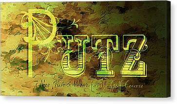 Putz Canvas Print by EricaMaxine  Price