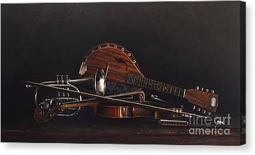 Quartet Canvas Print by Larry Preston