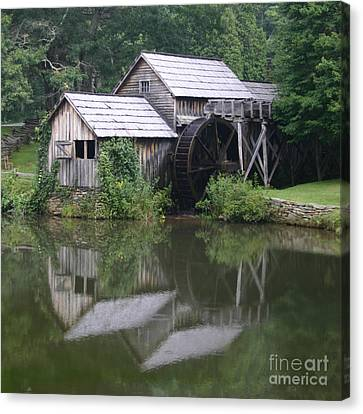 Quiet Reflection Canvas Print by ELDavis Photography