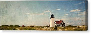 Cape Cod Scenery Canvas Print - Race Point Light by Bill Wakeley