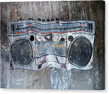 Radio Gaga Canvas Print by Empty Wall