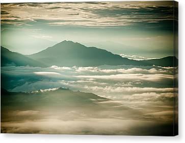 Raimond Klavins Fotografika.lv Sunrise Himalayas Mountain Nepal Canvas Print