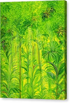 Rain Forest Malaysia Canvas Print by Laila Shawa