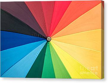 Rainbow Canvas Print by Delphimages Photo Creations