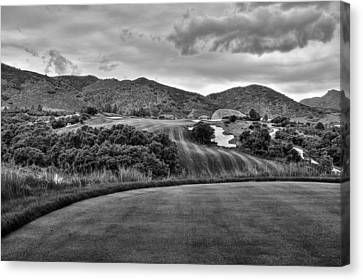 Canvas Print featuring the photograph Ravenna Golf Course by Ron White