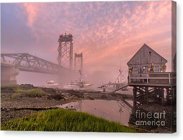 Red Sky At Night Canvas Print by Scott Thorp