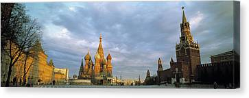 Red Square Moscow Russia Canvas Print by Panoramic Images