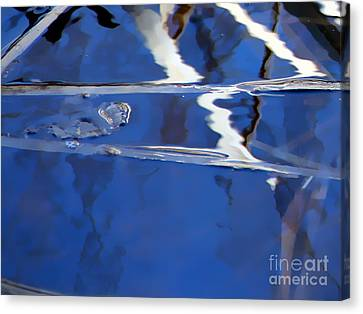 Reflections Blue Canvas Print